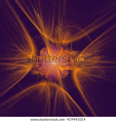 Abstract fractal design. Abstract texture. - stock photo
