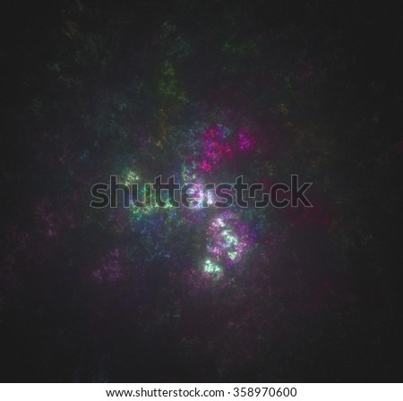 Abstract fractal elements