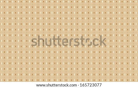 Abstract fractal high resolution light brown background with a detailed abstract pattern/texture on it consisting of many detailed geometric shapes