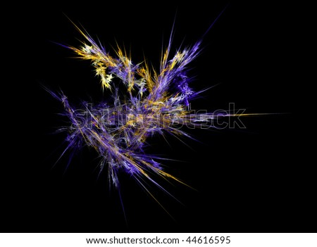 Abstract fractal illustration