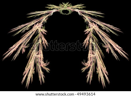 abstract fractal image - stock photo