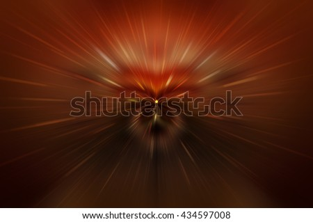 Abstract fractal red background. Magic illustration
