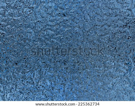 Abstract frosted glass texture-blue - stock photo