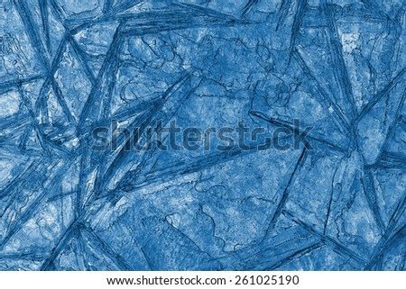 abstract frozen background of ice, x-ray effect - stock photo