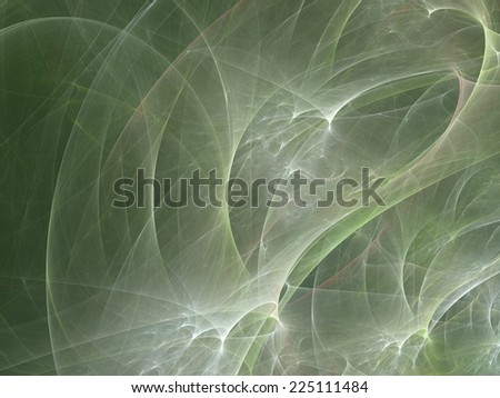 Abstract futuristic background made from fractal textures - stock photo