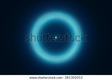 Abstract futuristic circular background