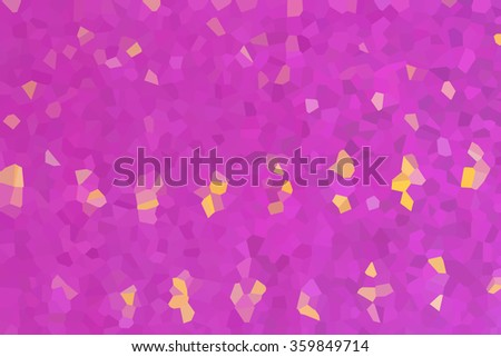 abstract futuristic crystal background - stock photo