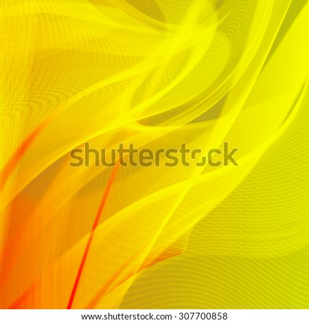 Abstract futuristic line art background - stock photo