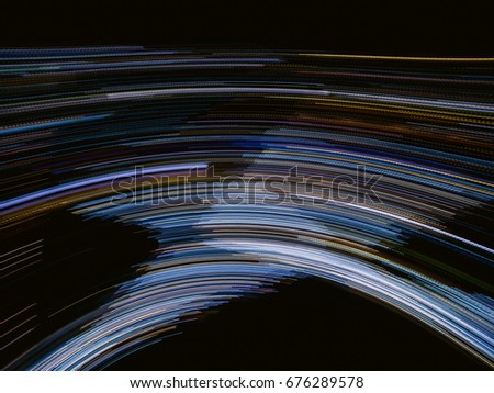 Abstract futuristic line background