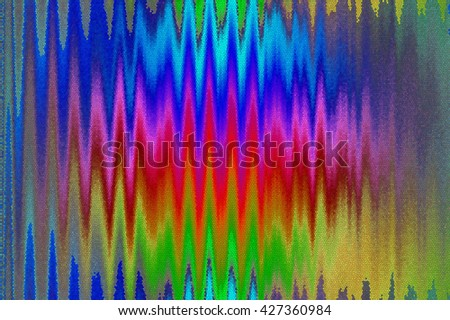 Abstract Futuristic Mosaic. Psychedelic.Fractal art background for creative design. Decoration for wallpaper desktop, poster, cover booklet. Abstract texture. Print for clothes, t-shirt. - stock photo