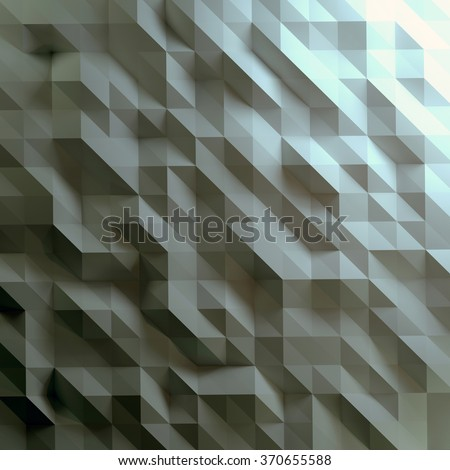 Abstract geometric background. Low poly style - stock photo