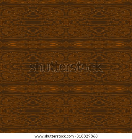 Abstract geometric background, seamless pattern dark brown, wood structure - stock photo