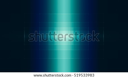 Abstract geometric 3D cross pattern background, dark turquoise gradient graphic design