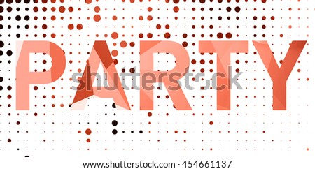 Abstract geometric dots colorful background with squares light interior with copy space for your creative project studio backdrop party