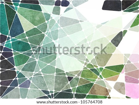 abstract geometric grunge background - stock photo