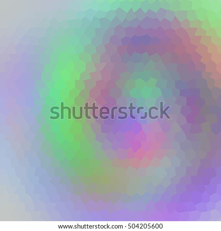 Abstract geometric hexagon background. Raster version.