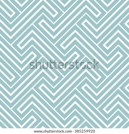 Abstract geometric pattern by stripes, lines. A seamless background. Blue and white texture - stock photo