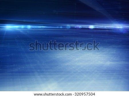Abstract geometric technology design element.  - stock photo