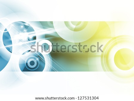 Abstract Geometrical Design - stock photo