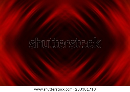 Abstract geometrical red fractal