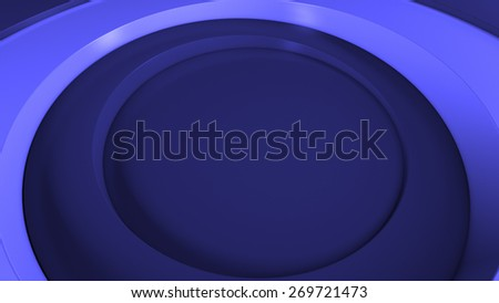 abstract geometry background based on rendered 3d radial shapes that have different height