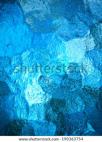 abstract glass texture - stock photo