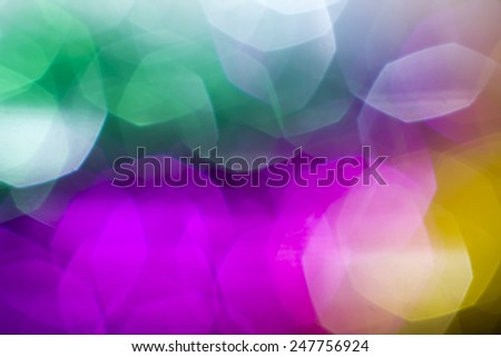 Abstract glitter background - stock photo