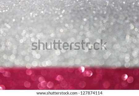 abstract glitter background with lights - stock photo