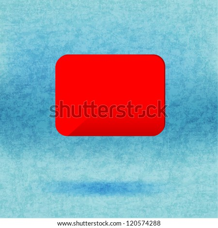 Abstract glossy speech vector background. - stock photo