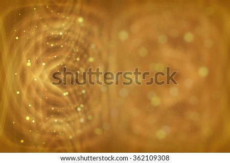 Abstract gold background defocused lights.