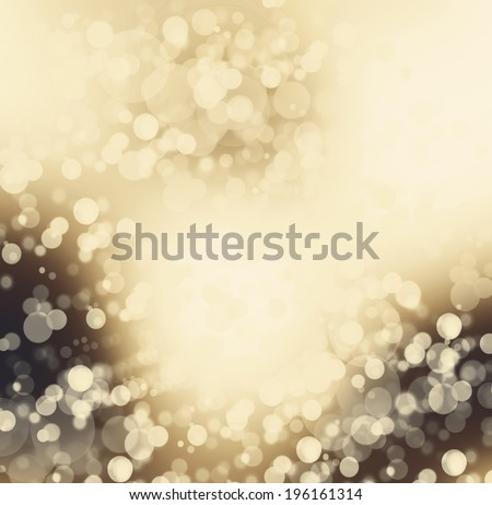 abstract gold background luxury Christmas holiday or pale wedding background brown frame smooth vintage background texture, gold paper layout design light beige background color, pale gold cream ivory - stock photo