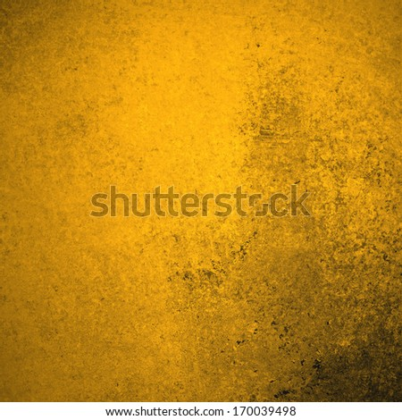 abstract gold background, stained old vintage grunge background texture, distressed rough surface with dark border, yellow website background or brochure backdrop, aged grungy design