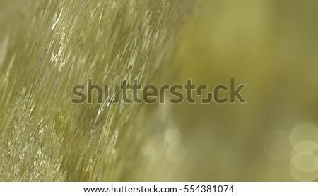 Abstract gold background with bokeh defocused lights. Fashionable illustration