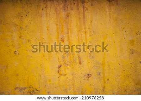abstract gold background yellow color, light corner spotlight, faint orange vintage grunge background texture gold yellow paper layout design for warm colorful background, rich bright sunny color - stock photo