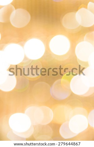 Abstract gold blur background - vintage filter