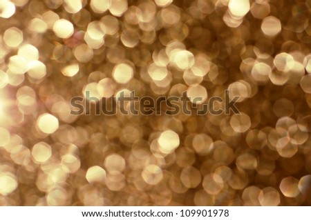 Abstract gold Christmas background - stock photo