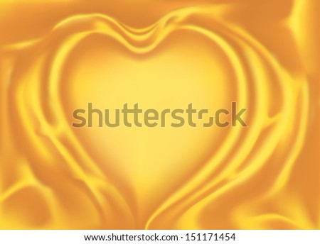 Abstract Gold cloth Background.