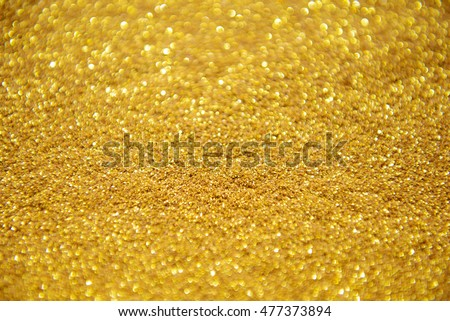 Abstract gold glitter for background