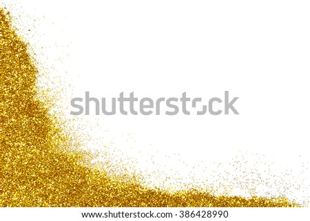 Abstract Gold Glitter Wallpaper Perfect For Christmas New Year Or Any Other Holidays On