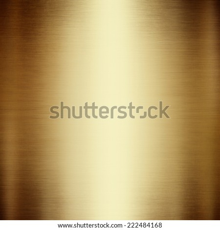 abstract gold metal background - stock photo