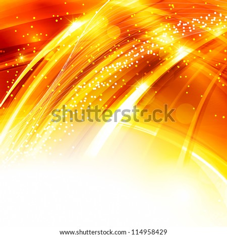 Abstract golden background. Rasterized version