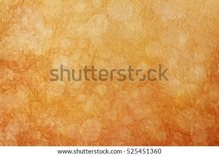 Abstract golden background with bokeh