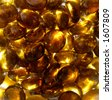 Abstract golden glass stones background - stock photo