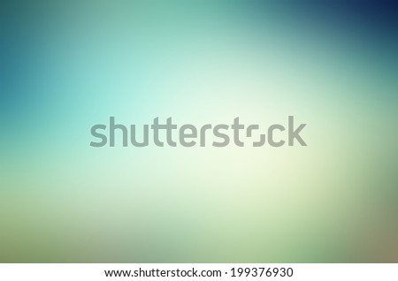 Abstract gradient background with blue and green colors - stock photo