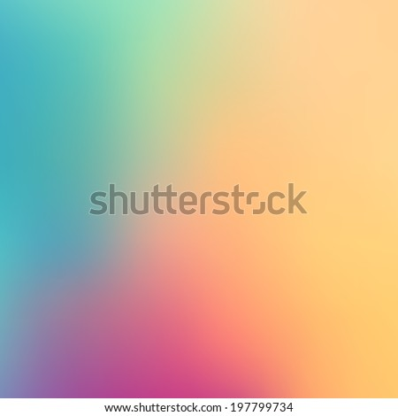Abstract gradient background with soft color tones - stock photo