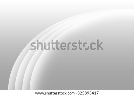 abstract gradient gray background with gradient white curve