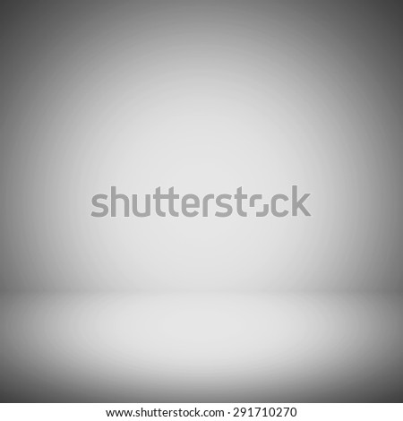 Abstract gradient grey room - display your products - stock photo