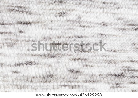 Abstract gray and white Cotton fabric pattern texture as background - stock photo