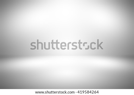 Abstract gray empty room studio gradient used for background and display your product - stock photo