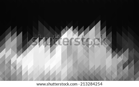 Abstract gray geometric background.